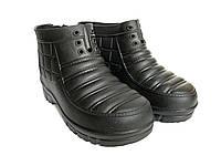 Мужские галоши 42-43р, галоши пена, мужская обувь EVA ЭВА из пенки, галоші, садові галоші, фото 1