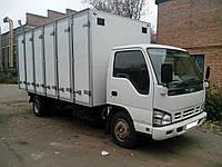 Кузов-фургон хлебный на а/м ISUZU