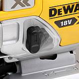 Пила лобзиковая аккумуляторная бесщёточная DeWALT DCS334P2, фото 5