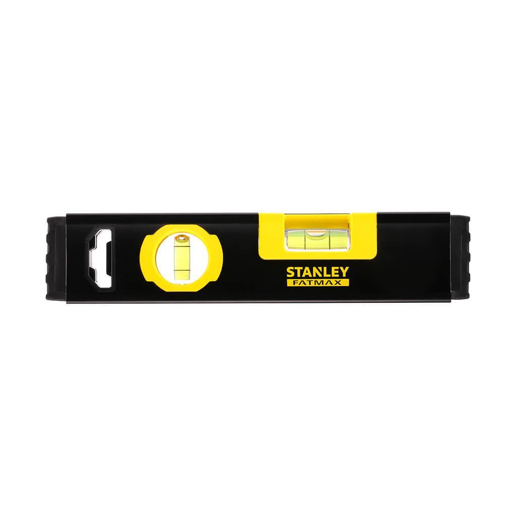 Уровень Classic Box Level TORPEDO алюминиевый длиной 230 мм с двумя капсулами и магнитами STANLEY FMHT42884-1