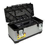 Ящик FatMax профессиональный металлопластиковый размером 59х29.3х22.2 см STANLEY FMST1-75769, фото 2