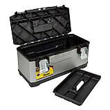 Ящик FatMax профессиональный металлопластиковый размером 59х29.3х22.2 см STANLEY FMST1-75769, фото 3