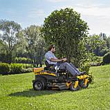Трактор садовый бензиновый STIGA ZT3107T, фото 7
