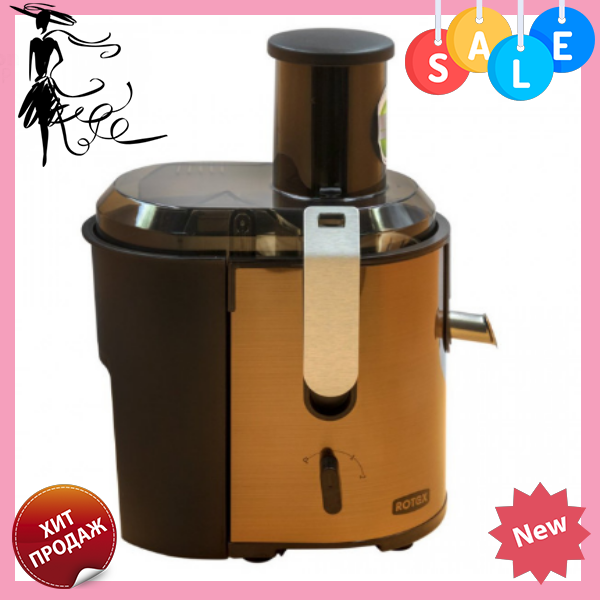 Кухонная электрическая соковыжималка ROTEX RJW700-S