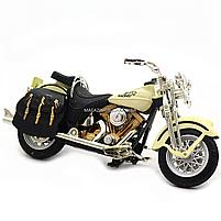 Мотоцикл Автопром HX-796, белый 16х5х10 см (7749), фото 6