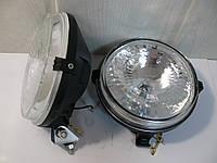 Фара противотуманная МТЗ круглая галогенная лампочка (бел. стекло) (пр-во Украина), фото 1