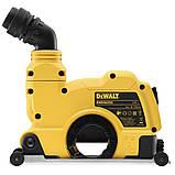 Защитный кожух 125 мм для отвода пыли - бороздодел DeWALT DWE46225, фото 6