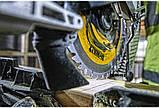 Пила торцовочная аккумуляторная бесщёточная DeWALT DCS727T2, фото 5