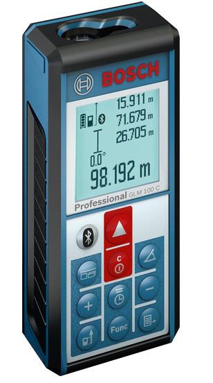 Bosch GLM 100 C Дальномер лазерный (0601072700)