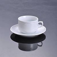 Чашка 1в1 с блюдцем (230 мл) Flora F2393+F2394