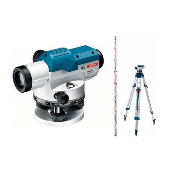 Bosch GOL 20 D + BT160 + GR500 Оптический нивелир (0601068402)