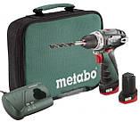 Metabo PowerMaxx BS Аккумуляторная дрель-шуруповерт (600079550), фото 2