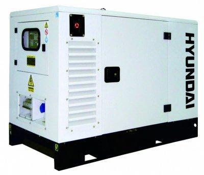 Электростанция дизельная 1-фазная Hyundai DHY 9KSEM
