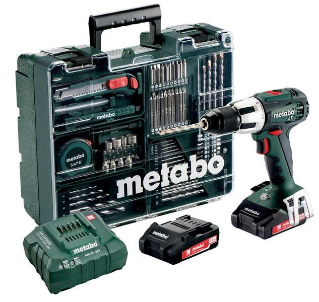 Metabo SB 18 LT SET Аккумуляторная ударная дрель-шуруповерт (602103600)