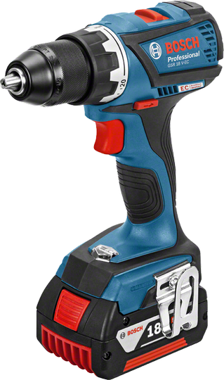 Bosch GSR 18 V-EC Professional Аккумуляторная дрель-шуруповёрт (06019E8104)