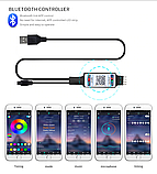 Bluetooth  USB Светодиодная лента   5м RGB c пультом ДУ, фото 7