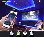 Bluetooth USB Світлодіодна стрічка 5м RGB з пультом ДУ, фото 2