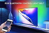 Bluetooth USB Світлодіодна стрічка 5м RGB з пультом ДУ, фото 3