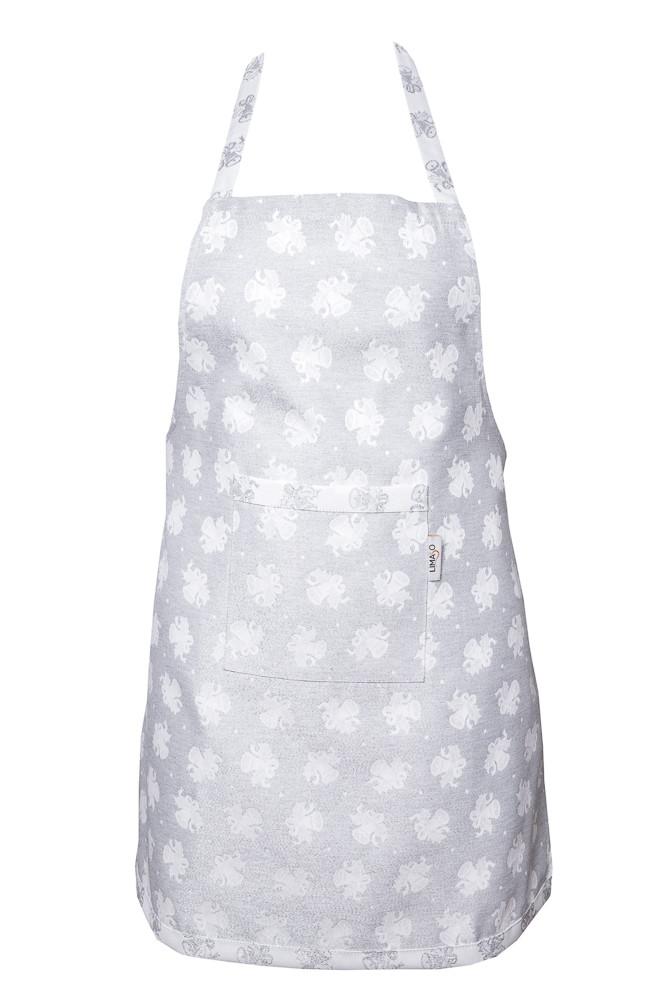 Фартук для кухни LiMaSo 60*85см жаккардовый полиэстер новогодний арт.FS80-EDEN030-FR.60х85