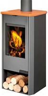 TALA 14 листовой металл + керамика с водонагревательным теплообменником