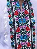 Квіткова чоловіча вишиванка, ефектна і кольорова «Дрібні рози», фото 8