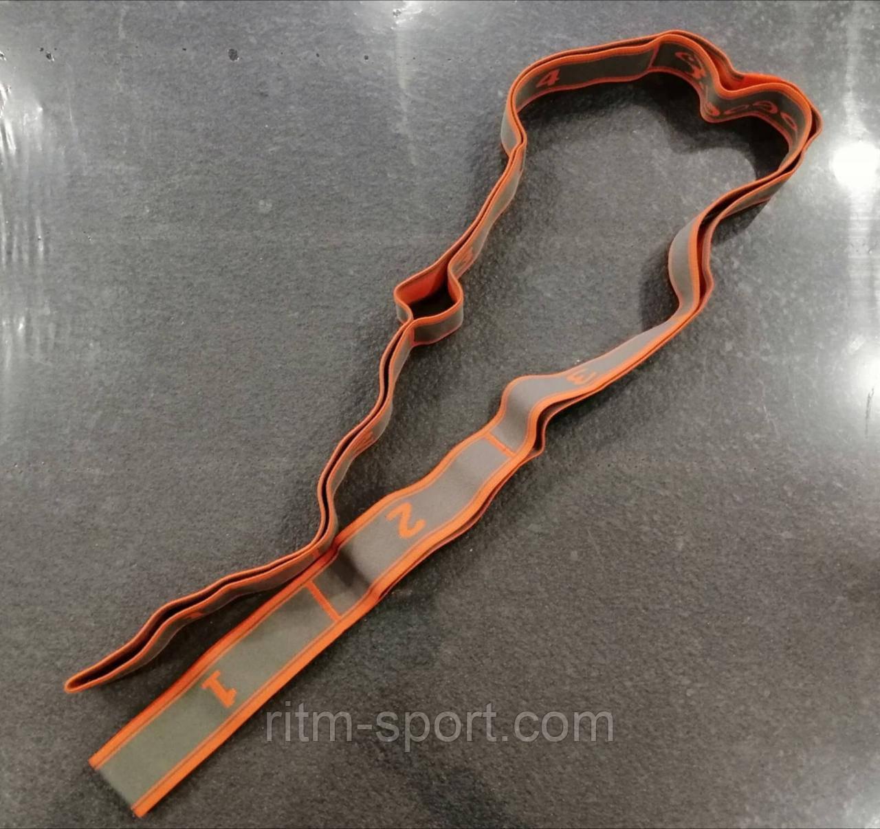 Резина для растяжки 8 петель, сопротивление от 12 до 15 кг