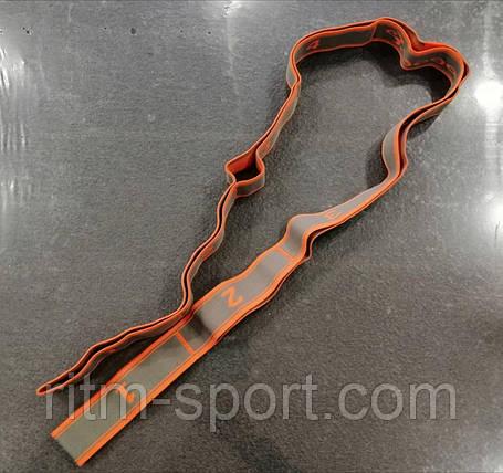 Резина для растяжки 8 петель, сопротивление от 12 до 15 кг, фото 2