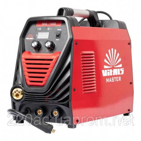 Сварочный инверторный полуавтомат 2в1 VITALS Master MIG 1400