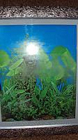 Картина исскуственный аквариум размер 80*80