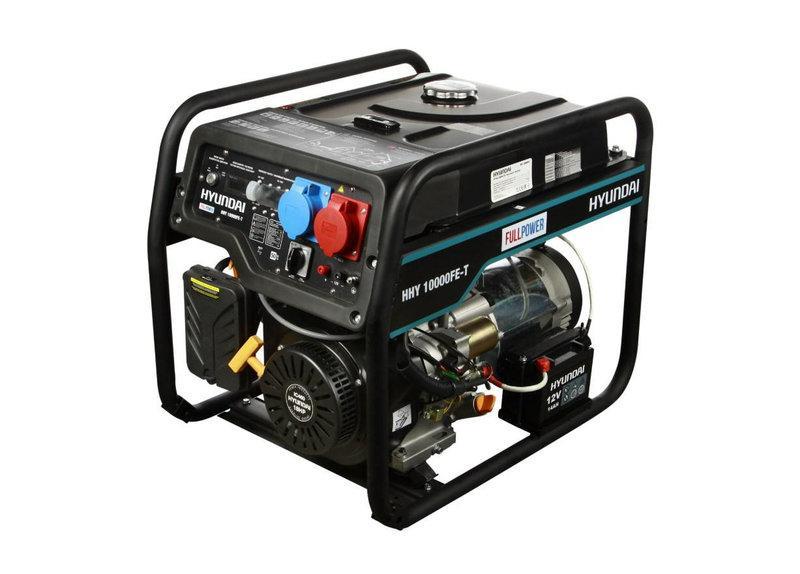 Hyundai HHY 10000FE-T Бензиновый генератор