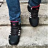 Зимние Кроссовки ADIDAS Climaproof МЕХОМ Черные Мужские Ботинки Адидас (размеры: 41,42,43,45,46)ВидеоОбзор, фото 5