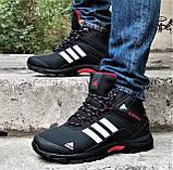 Зимние Кроссовки ADIDAS Climaproof МЕХОМ Черные Мужские Ботинки Адидас (размеры: 41,42,43,45,46)ВидеоОбзор, фото 6