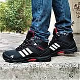 Зимние Кроссовки ADIDAS Climaproof МЕХОМ Черные Мужские Ботинки Адидас (размеры: 41,42,43,45,46)ВидеоОбзор, фото 8