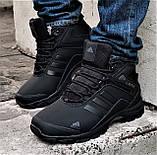 Зимние Кроссовки ADIDAS Climaproof МЕХОМ Черные Мужские Ботинки Адидас (размеры: 42,43,45)ВидеоОбзор, фото 2