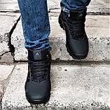 Зимние Кроссовки ADIDAS Climaproof МЕХОМ Черные Мужские Ботинки Адидас (размеры: 42,43,45)ВидеоОбзор, фото 4