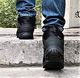 Зимние Кроссовки ADIDAS Climaproof МЕХОМ Черные Мужские Ботинки Адидас (размеры: 42,43,45)ВидеоОбзор, фото 6