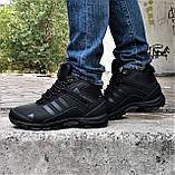 Зимние Кроссовки ADIDAS Climaproof МЕХОМ Черные Мужские Ботинки Адидас (размеры: 42,43,45)ВидеоОбзор, фото 7
