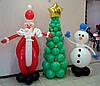 Делаем Новый год незабываемым с помощью воздушных шариков