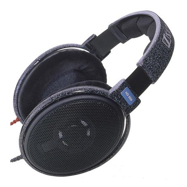 Накладні Навушники провідні без мікрофона Sennheiser HD 600 Black