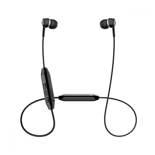 Навушники вакуумні безпровідні з мікрофоном Sennheiser CX 150BT Black