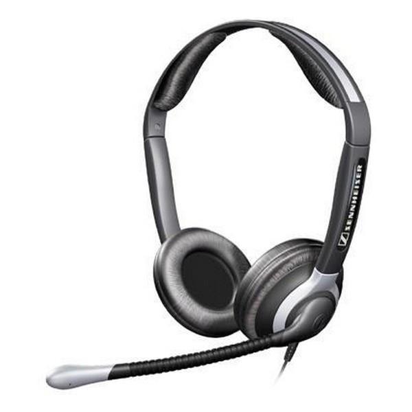 Накладні Навушники провідні з мікрофоном Sennheiser CC 550 Black