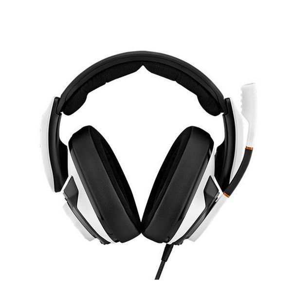 Накладні Навушники провідні з мікрофоном Sennheiser GSP 601 White
