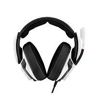 Навушники накладні провідні з мікрофоном Sennheiser GSP 601 White