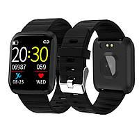 Фитнес-браслет Smart Band 116 Plus смарт часы спортивные   Фітнес-браслет смарт годинник спортивні