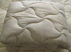 Одеяло полуторное лебяжий пух 150*210 хлопок (3271) TM KRISPOL Украина
