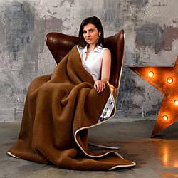 Подарок. Эксклюзивное одеяло с шерсти мериносов. шерсть/шерсть. Разные размеры