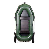 Двухместная гребная надувная лодка Bark (Барк) В-270Р, фото 1