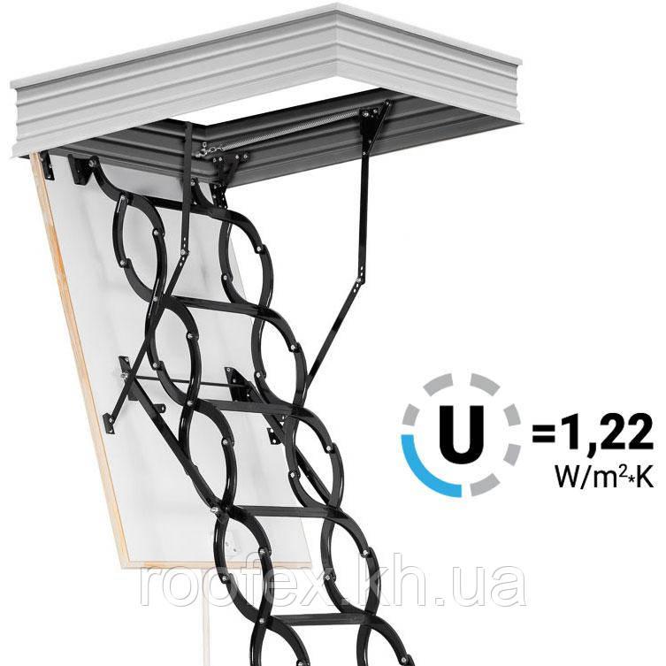 Чердачная лестница Oman Flex Termo Metal
