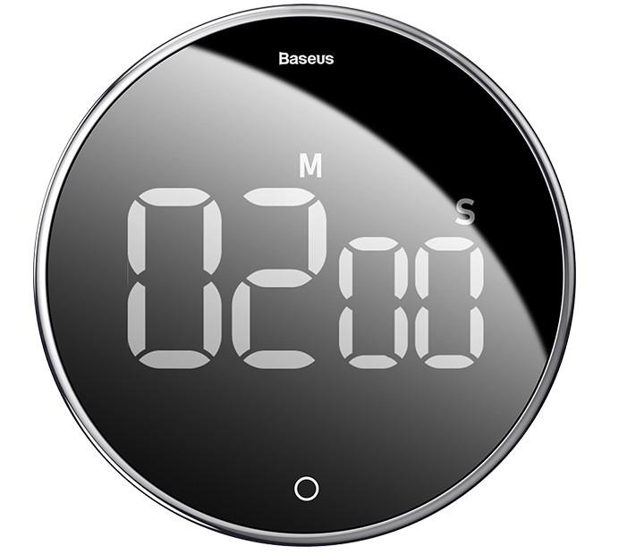 Таймер магнитный BASEUS Heyo Rotation Countdown Timer, черный