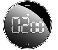 Таймер магнитный BASEUS Heyo Rotation Countdown Timer, черный, фото 1